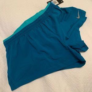Nike running shorts, NWT